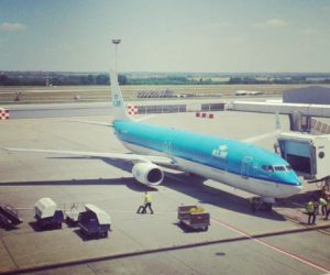 klm op budapest airport